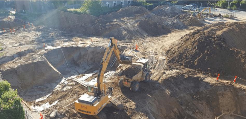 foto gravearbejdet